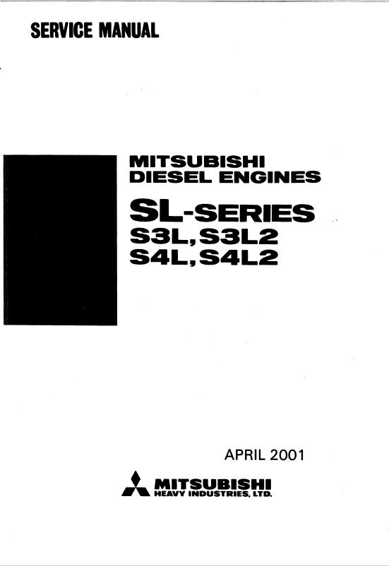 mitsubishi diesel engines sl
