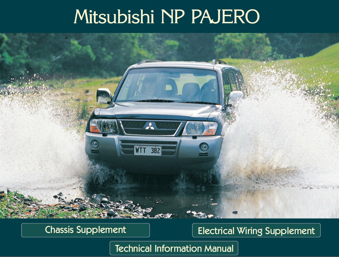 mitsubishi montero workshop technical information manual rh epcatalogs com 2002 mitsubishi montero sport repair manual pdf 2004 mitsubishi montero repair manual