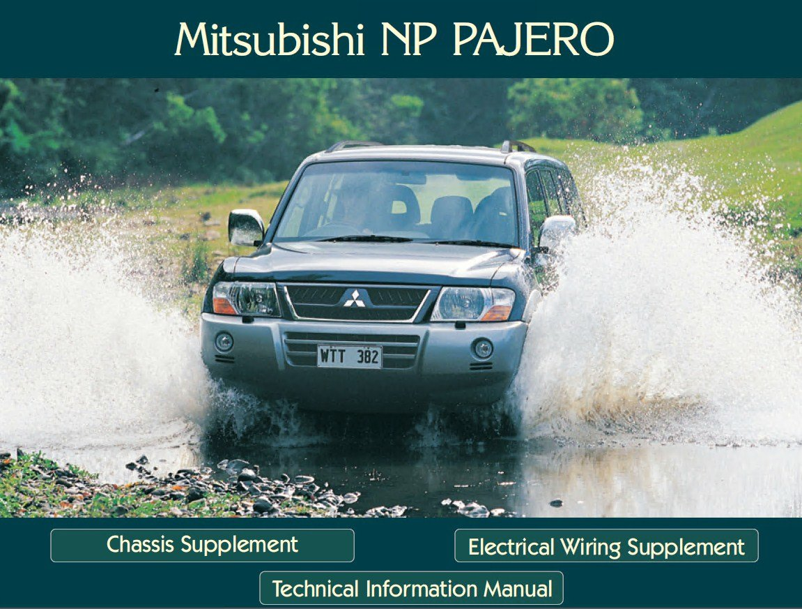repair manual Mitsubishi Montero Workshop & Technical Information Manual PDF