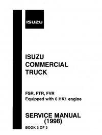 isuzu commercial truck fsr    ftr    fvr 1998 service manual