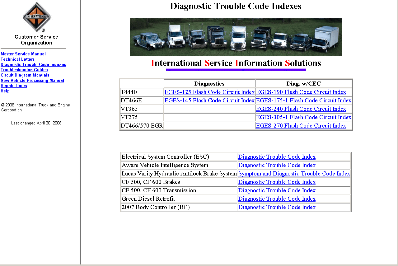 Mnl-2586] 2002 diagnostic international 4300 dt466 service manual.