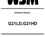 repair manual Kubota G21LD, G21HD Workshop Manual PDF