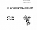 repair manual ZF WG-180, WG-200 Power Transmission Workshop Manual PDF