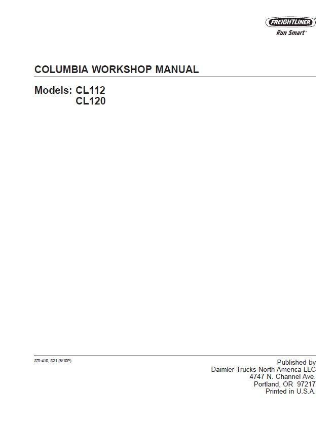 freightliner columbia workshop manual pdf instant download rh epcatalogs com 2006 freightliner m2 service manual Freightliner Wiper Parts