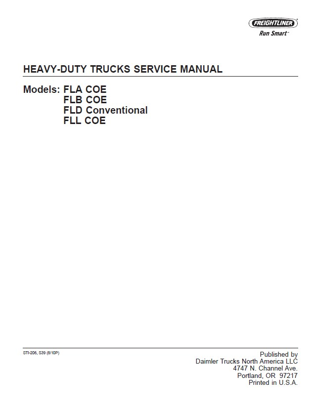 1965 ford truck shop service manual set original pickup heavy duty.