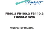 repair manual Fiat Hitachi FB90.2 FB100.2 FB110.2 FB200.2 4WS Workshop Manual PDF