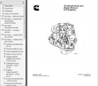 repair manual Cummins K19 Series Diesel Engine PDF Troubleshooting and Repair Manual