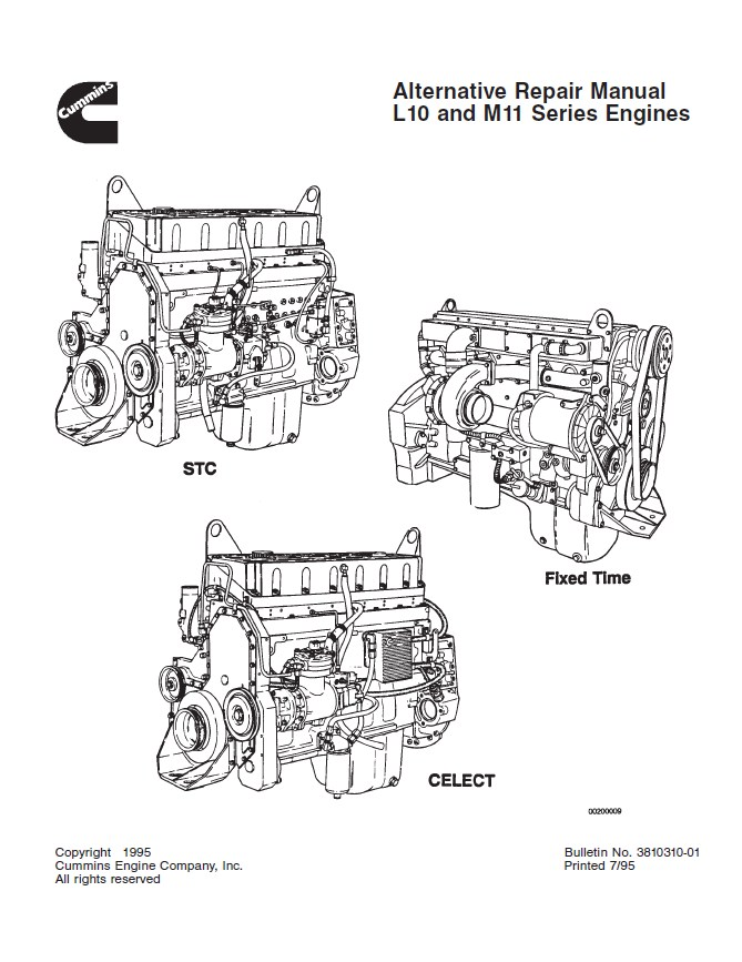 cummins l10 m11 repair manual pdf download rh epcatalogs com cummins m11 workshop service manual cummins m11 workshop service manual