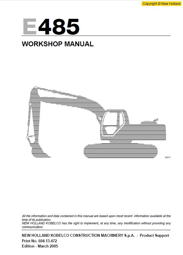 Kobelco Repair Manual