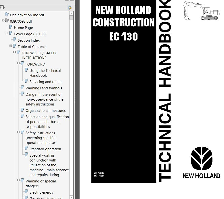 New holland 499 pdf Manual