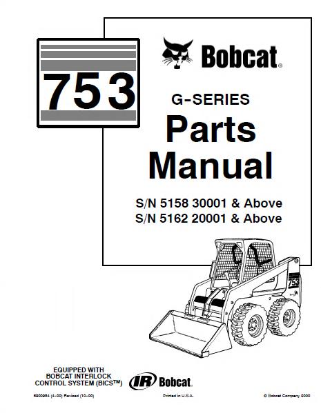 Bobcat Parts Online >> Bobcat Parts Diagram 753 Wiring Diagram Online