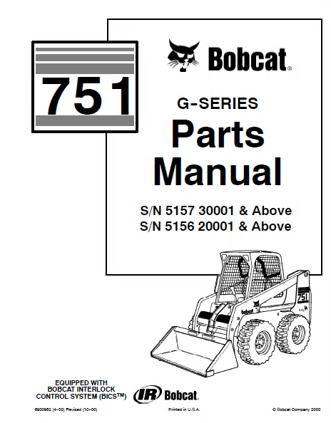 bobcat 751 parts diagram