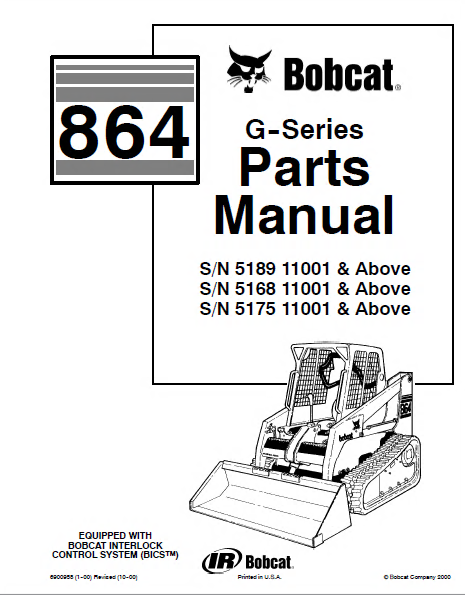 bobcat s250 parts diagram bobcat loader parts diagram bobcat 864 g-series skid steer loader parts manual pdf #14