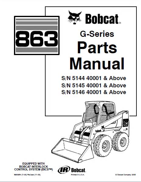 bobcat 863 g series skid steer loader parts manual pdf, spare Bobcat Loader Parts Diagram spare parts catalog bobcat 863 g series skid steer loader parts manual pdf bobcat loader parts diagram