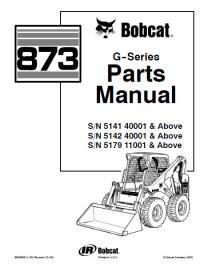 Bobcat G Skid Steer Parts Manual Spare Parts Catalog