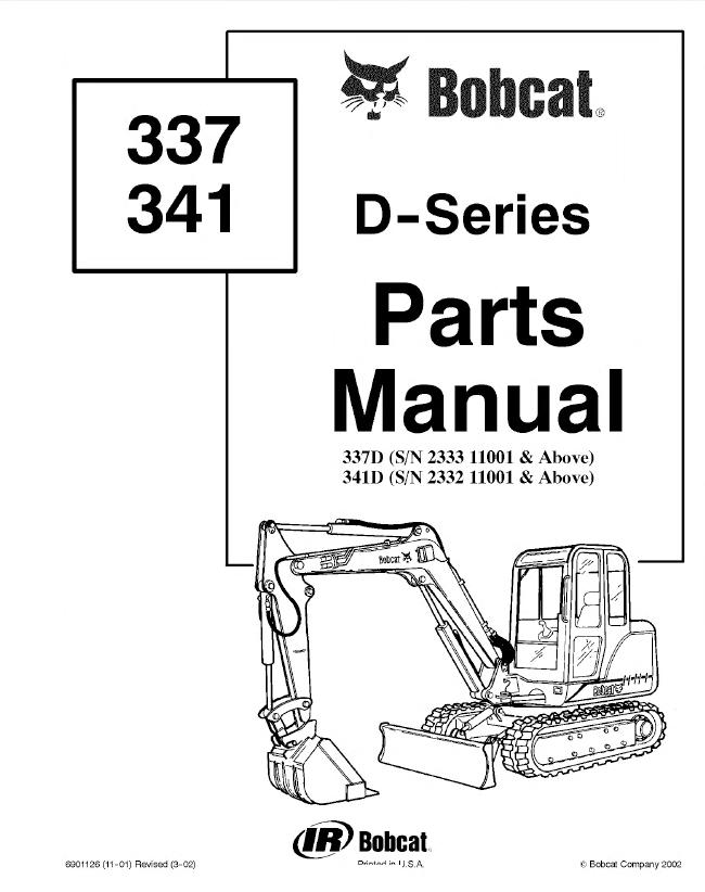 bobcat s650 parts manual pdf