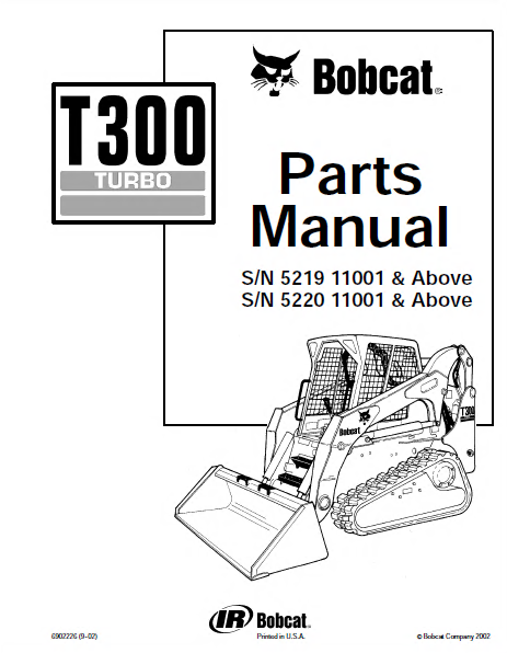 bobcat t300 turbo track loader parts manual pdf download rh epcatalogs com bobcat t300 hydraulic schematic bobcat t300 hydraulic schematic
