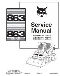 bobcat skid steer control panel