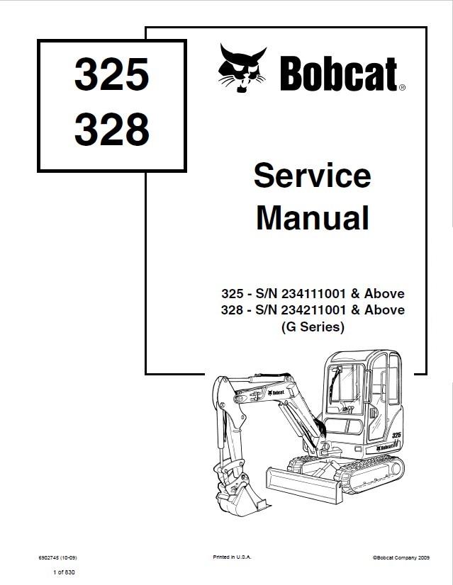Bobcat 325 Parts Diagram - Schematic Wiring Diagram