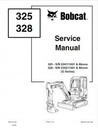 bobcat 843 wiring diagram bobcat 325, 328 excavator g series service manual pdf 2012 bobcat e32 wiring diagram #5