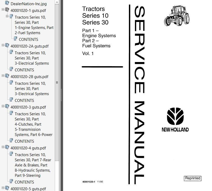 new holland ford 7710 tractor service manual pdf rh epcatalogs com Ford 7710 Alternator Wiring Diagram 5610 Ford Tractor Wiring Diagram