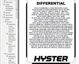 repair manual Hyster Class 5 For G019 (H300HD, H330HD, H360HD, H360HD-12EC) Trucks PDF Manual
