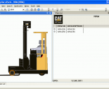 spare parts catalog Caterpillar Forklift LinkOne 2013