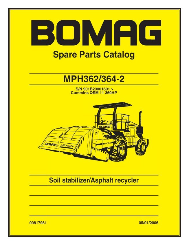 Bomag Mph362  364