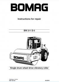 Bomag       BW    211 D   3    Drum Wheel Roller Instructions Repair PDF