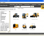 spare parts catalog repair manual JCB SPP 2013 Parts Catalog + Service Repair Manuals