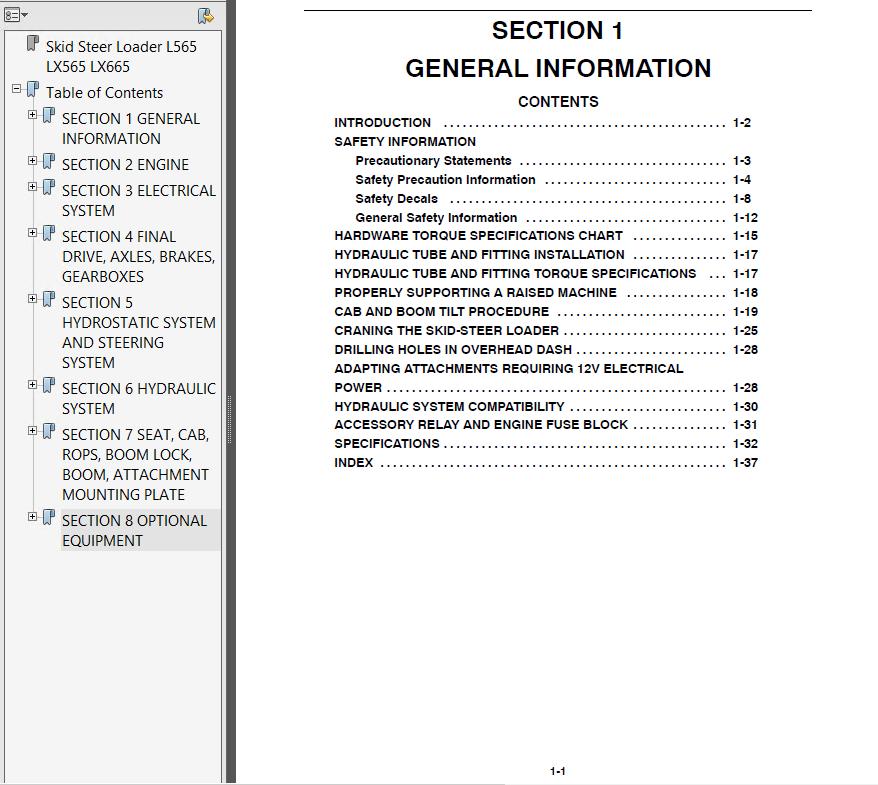 new holland l565 lx565 lx665 loader manual pdf download rh epcatalogs com new holland lx665 parts manual new holland lx665 owners manual