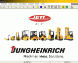 spare parts catalog repair manual JETI ForkLift SH+ET v4.26