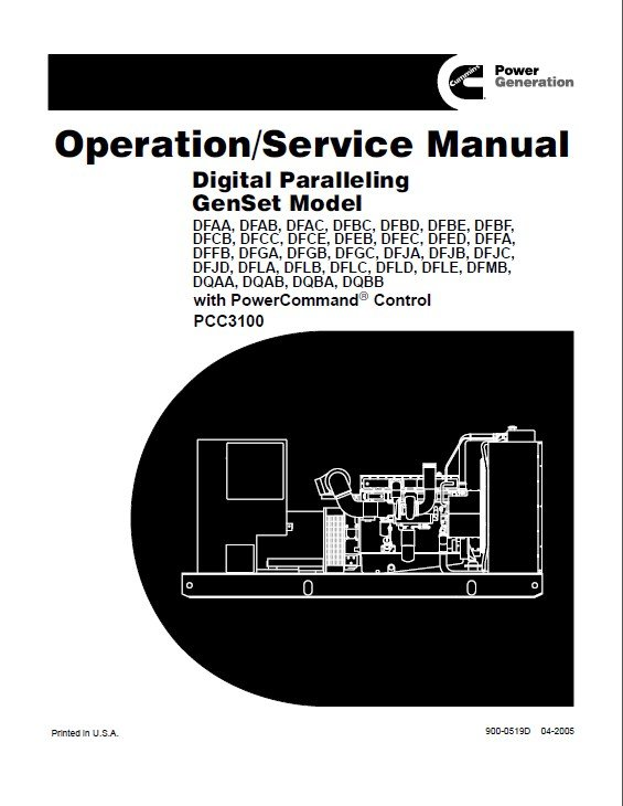 cummins digital paralleling genset model service manual pdf rh epcatalogs com cummins onan generator manual hdkaj cummins onan generator manual 200dgfc