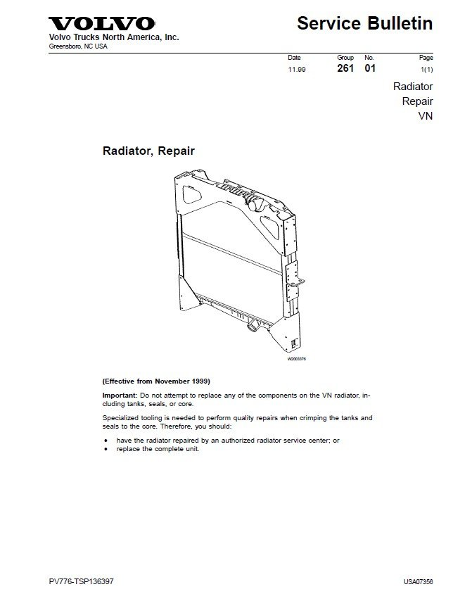 Volvo D12 D12a D12b D12c Engine Repair Manual Download