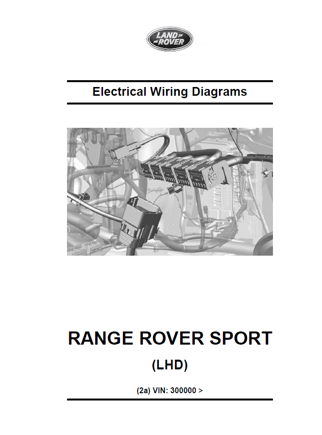 Land Rover Range Rover Sport L494 Set Of Manuals And Manual Guide