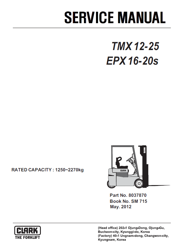 clark forklift tmx12 25 epx16 20s service manual download rh epcatalogs com clark forklift service manual free download clark forklift service manual c500