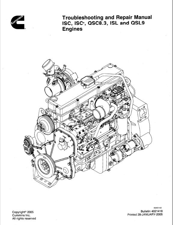 download cummins engines isc isce qcs8 3 isl qsl9 pdf manual