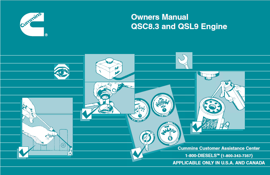 Cummins qsl9 engine parts manual pdf | Download Cummins QSC8