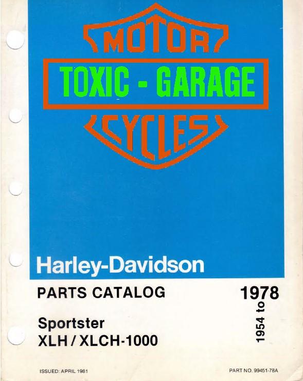 Harley Davidson Sportster Xlh  Xlch