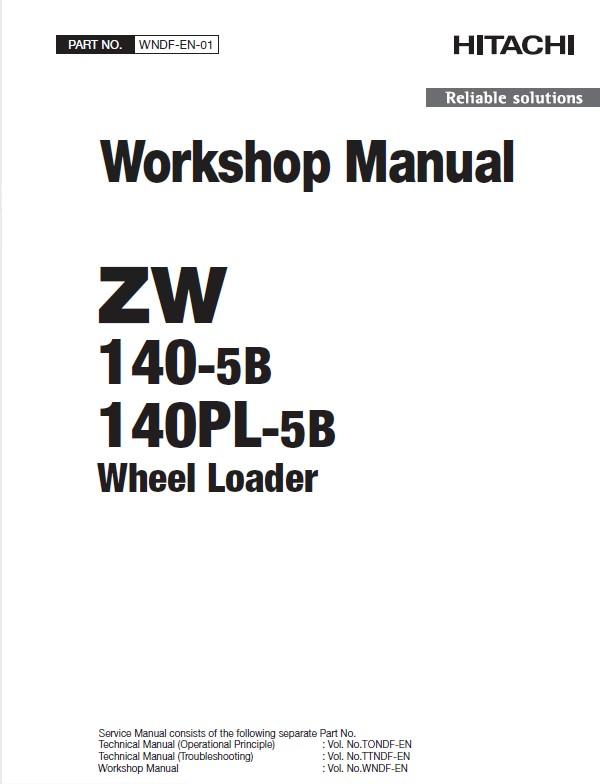 Download Hitachi Zw140 Pl 5b Workshop Manual Pdf