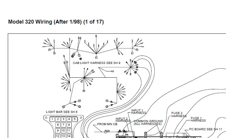 Peterbilt Truck 320 model Wiring Manual DownloadEPCATALOGS