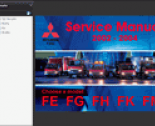 repair manual Mitsubishi Fuso 2002-2004