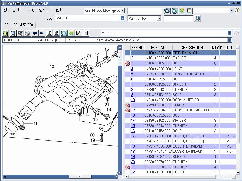 suzuki ww motorcycle atv 2011 spare parts catalog bikes rh epcatalogs com 2003 Honda ATV Wiring Diagram suzuki atv wiring diagrams