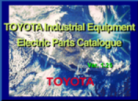 spare parts catalog Toyota Forklift Trucks, Lifttrucks