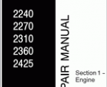 repair manual Buhler Versatile Service Manual 2240-2425
