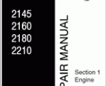 repair manual Buhler Versatile Service Manual 2145-2210