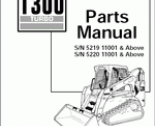 spare parts catalog Bobcat Loaders
