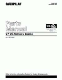 spare parts catalog caterpillar C7 On-highway Engine