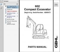 spare parts catalog GEHL Parts Manuals