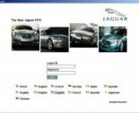 spare parts catalog Jaguar  2011
